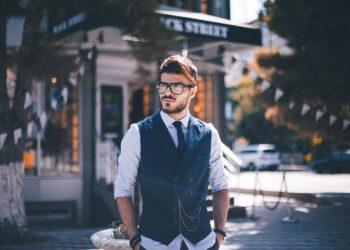 Интеллектуальный стиль мужской моды